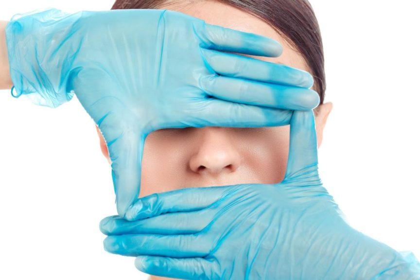 πλαστική μύτης